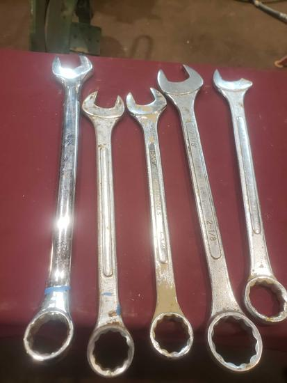(5) Lg. Wrenches. See PICS/Description