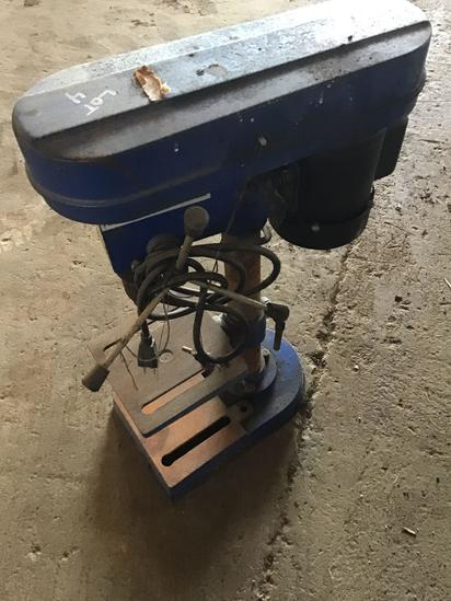Cummins 5 speed drill press, 1/2 inch chuck 120 volt motor