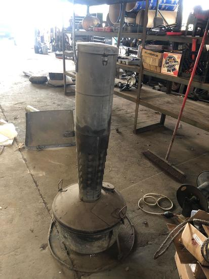 Vintage Kerosene Smudge Pot Heater