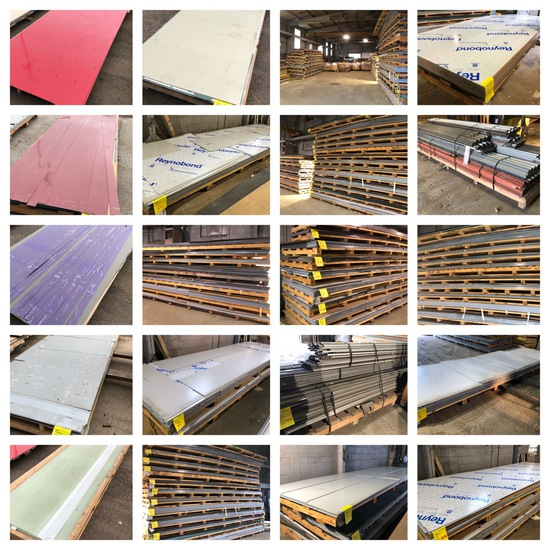 ACM Composite Panels and Building Materials