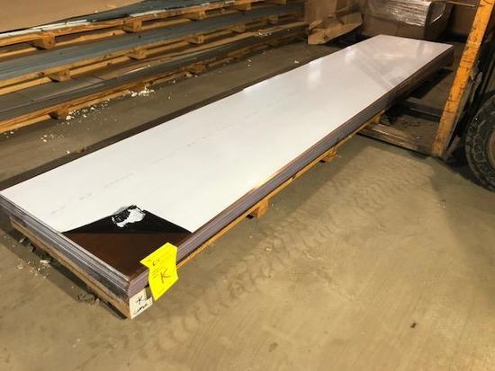 31 complete panels of ACM Composite Panels, color is Copper, Skid K