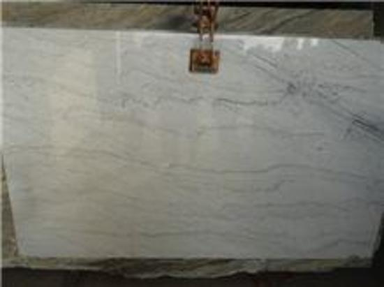"Polar white Granite Slab 116"" x 78"""
