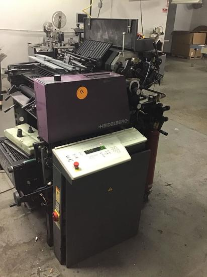 Heidelberg Quickmaster QM 46-2 2 color commercial printing press