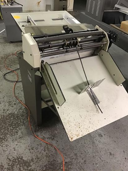 Rosback Perforator Model 223A. Powers on