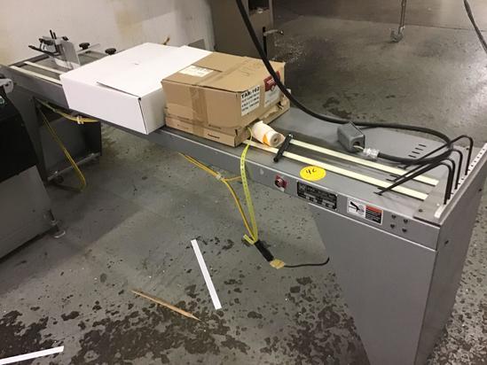 Kirk Rudy Model 314-8 8 foot shingle conveyor