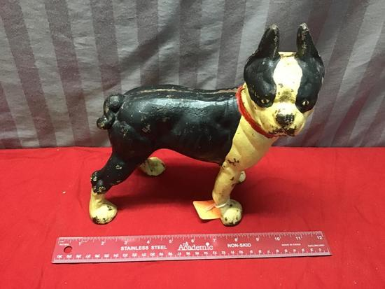 Original Cast Iron Dog door stop