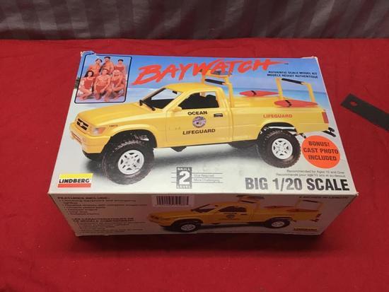 Baywatch 1/20 scale model truck