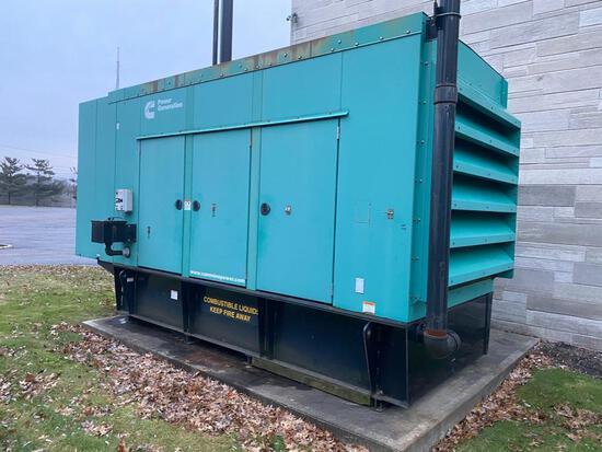 Cummins Diesel Generator, model DFEH-5864491. Serial no. G070087416. WOW