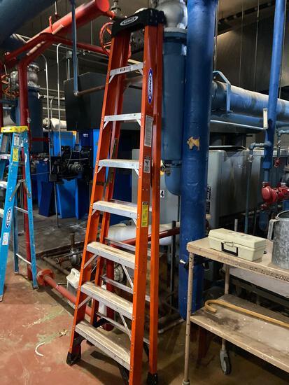 Werner 8ft fiberglass ladder