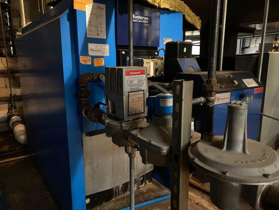 Buderus Logano plus SB615 Commercial Boiler Unit