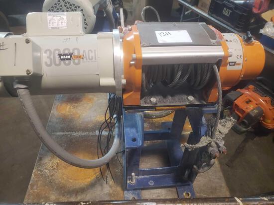 Warn works 3000 qci heavy duty winch