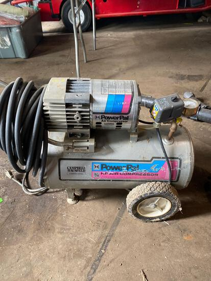 Campbell Hausfeld Power Pal horizontal air compressor