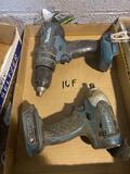 Makita cordless tool set, see pic