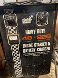 HD 40amp 225 engine start battery charger