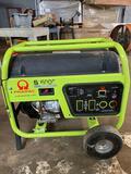 Pramac S6000 generator. 6000 watt. Honda GX340 gas