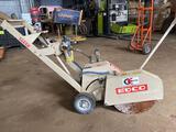 EDCO ASB14-5G Concrete Floor Saw