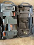 Cordless Battery Pack, Charger & Extra Battery