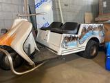 Vintage Harley Davidson 3 Wheel Custom Gas Golf Cart