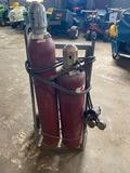 Harris and Torchweld Co Torch Set