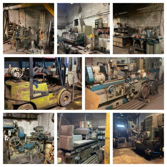 Online Only Machine and Grinding Shop