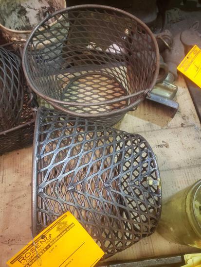 Nice vintage bucket style baskets