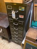 Fireproof 8 drawer cabinet