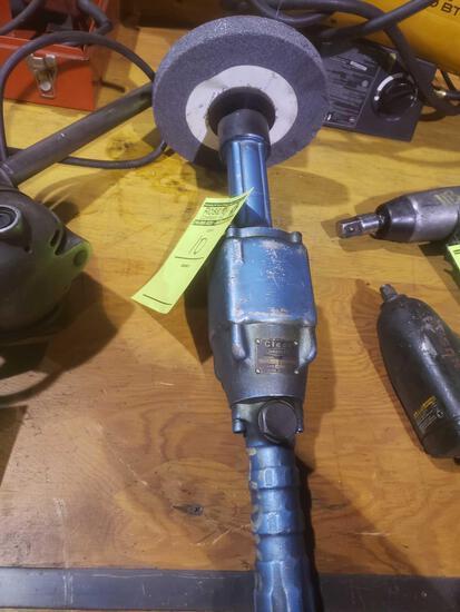 Cleco dresser air grinder # 650hl45, 4500 rpm