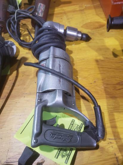 Milwaukee heavy duty angle drill
