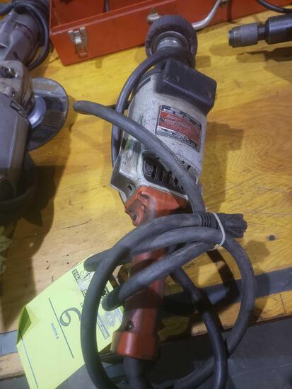 Milwaukee heavy duty straight grinder