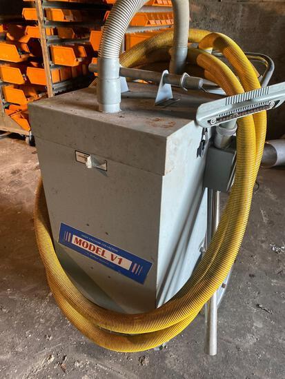 Airflow System Inc Model V1 Cyclone Rolling Shop Vac