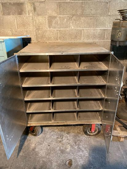 Stainless Steel 38in x 48in rolling tool cabinet