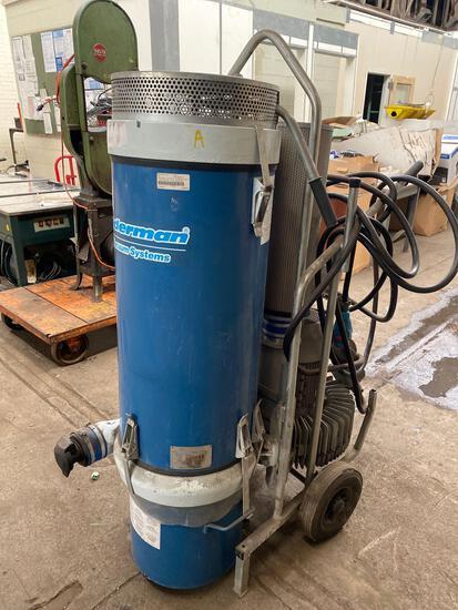 Nederman Model P55 High Vacuum System Large Shop Vac