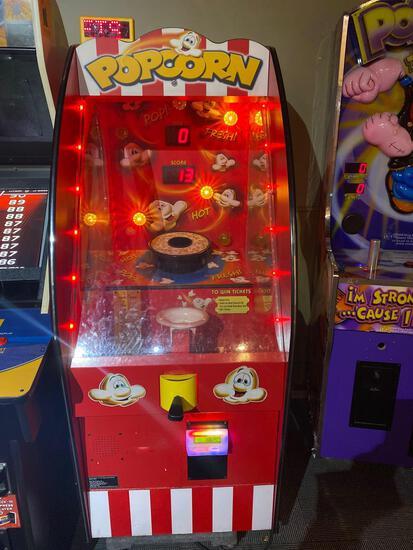Popcorn Popping Arcade Game