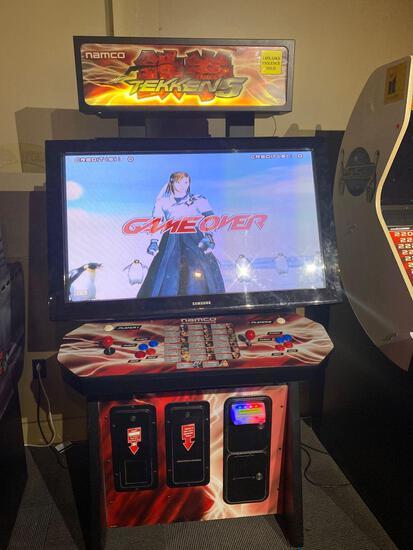 Namco Tekken 5 Dual Player Arcade Game