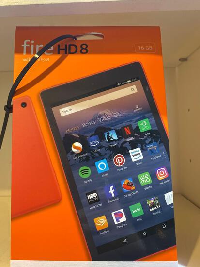 NEW Fire HD8 w/Alexa-16GB