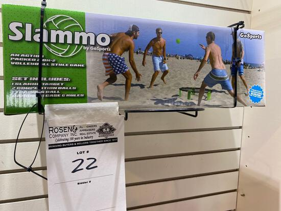Go Sports Inc Slammo Outdoor Volleyball style game
