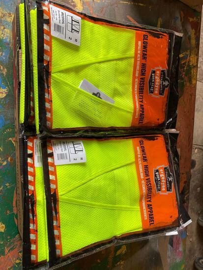 (20) New L-XL Tenacious Safety Vests