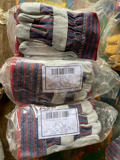 (36) pair of HD Industrial Work Gloves