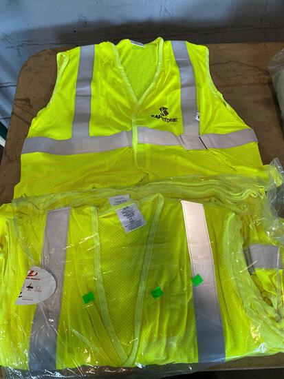 (12) Kapstone 2XL Safety Vests