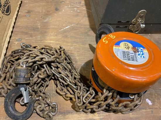 HDC 1 Ton Chain Hoist