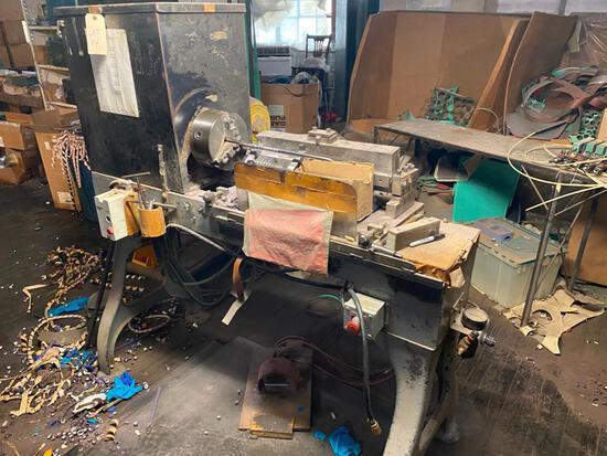 Custom built band recut machine
