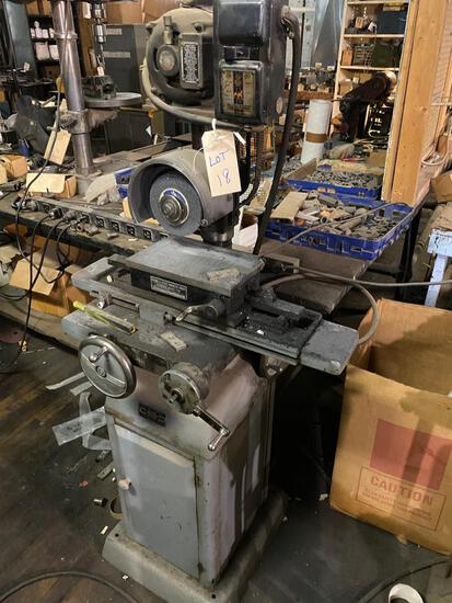 KO Lee Model B603 Surface Grinder with Brown and Sharpe Magnetic Chuck