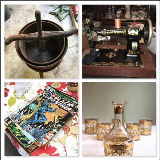 Estate Auction-Mid Century,Sewing Machines & More!