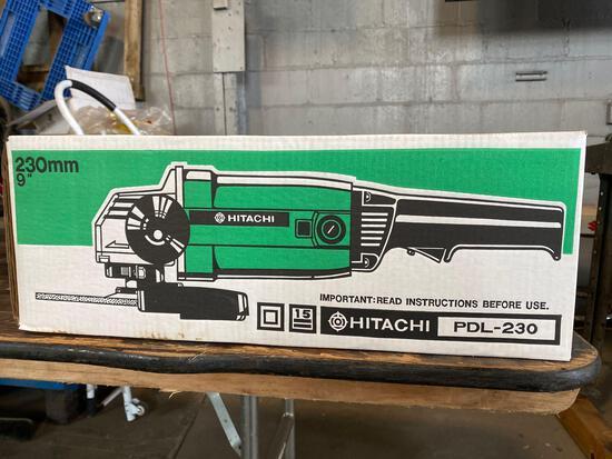 New Hitachi PDL-230 9 in Grinder
