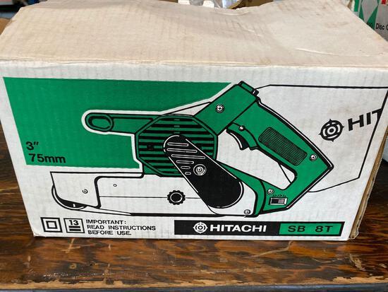 New Hitachi SB8T 3in Belt Sander