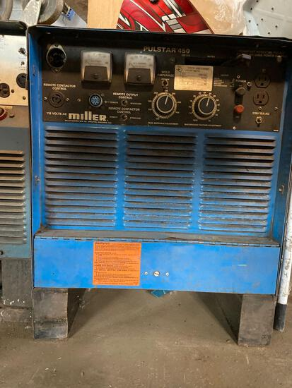 Miller Pulstar 450 Welding Source
