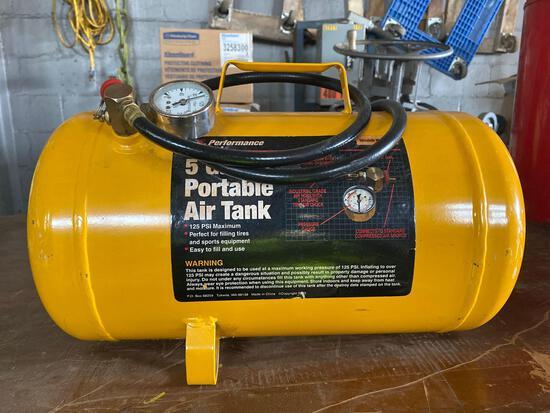 Like New 5 Gal Portable Air Tank
