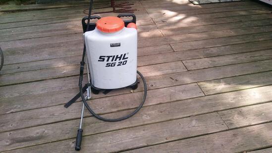 Stihl sg20 18 gallon backpack sprayer