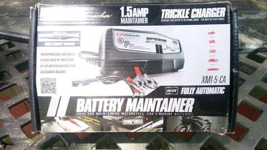 New Schumacher trickle charger