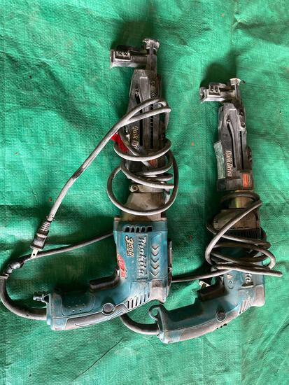 (2) Makita Quik Drive Deck Guns